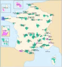 France National Parks Map