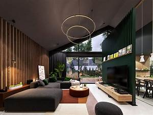 Interstellar, An, Out, Of, This, World, Stylish, Home, Interior