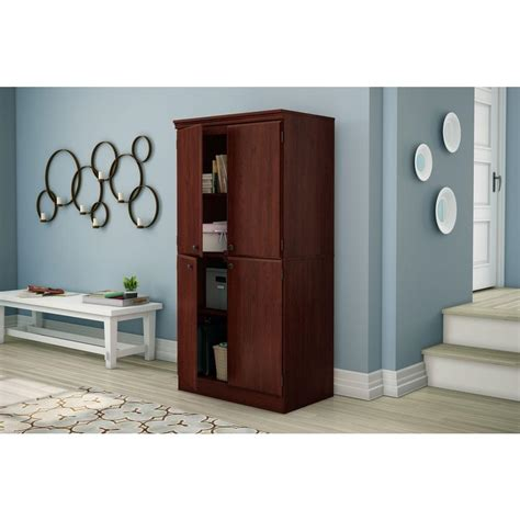South Shore Storage Cabinet Royal Cherry by South Shore Royal Cherry Storage Cabinet 7246971