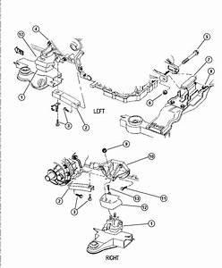 Dodge Intrepid Support  Transmission Mount  Engine  Mounts