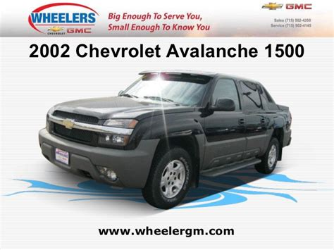chevrolet avalanche  wheelers