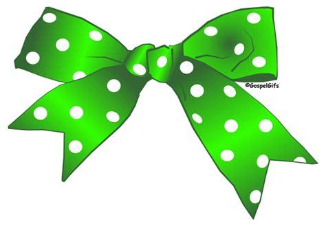 Green Christmas Ribbon Clip Art
