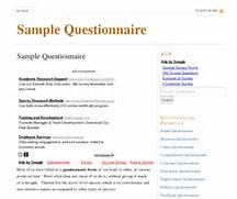 Questionnaire with...