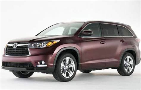 2019 Toyota Highlander Redesign And Release Date Toyota