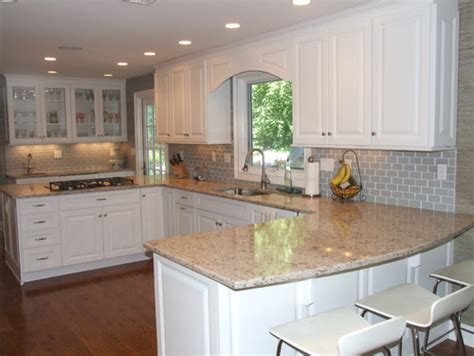 Backsplash Ideas With White Cabinets by Subway Tile Backsplash Ideas With White Cabinets Home