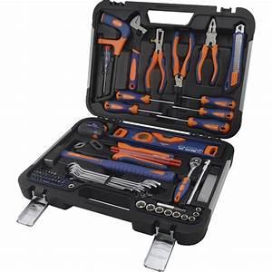 Boite A Outils Brico Depot : malette outils de m canicien 75 pi ces dexter leroy merlin ~ Dailycaller-alerts.com Idées de Décoration