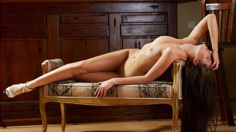 the nude model classy sexy girl photo on sofa hd wallpaper 1366x768 nude models and pornstars