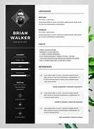 10 Best Free Resume CV Templates In Ai Indesign Word 50 Free Microsoft Word Resume Templates For Download Chronological Resume Template Free Microsoft Word Templates Templates