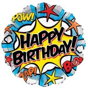 send a balloon in a box comic birthday balloon in a box