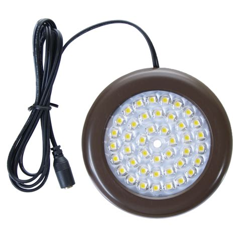 outdoor led puck lights 3 5 inch cool white led puck lights premium kit 3 pack