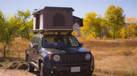 jeep renegade tent overroam roof top tent denver outfitters