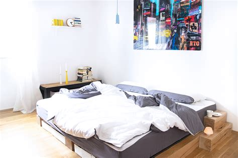 Bett Selbst Bauen Holz by Diy Bett Anleitung Zum Selber Bauen Eines Massiv Holz Bettes
