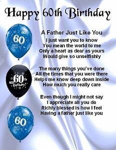 Fridge Magnet - Personalised - Father Poem - 60th Birthday ...