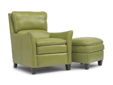 Flexsteel Leather Chair And Ottoman by Flexsteel Latitudes Chair And Ottoman Flexsteel
