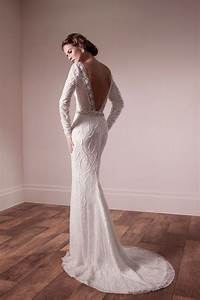 the modern style of the backless wedding dresses With backless bra for wedding dress