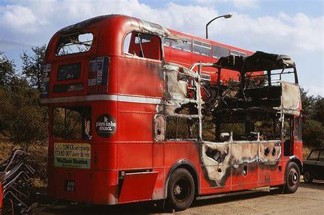 lt aldenham works rm  london bus routemaster