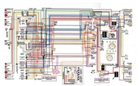 1975 911 Tach Wiring Diagram by 1967 81 Firebird Laminated Color Wiring Diagram 11 Quot X 17 Quot