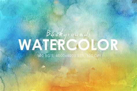 watercolor backgrounds textures creative market