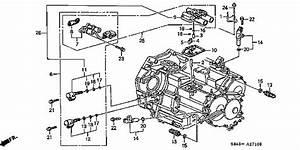 2005 Acura Tl Shift Solenoid Location