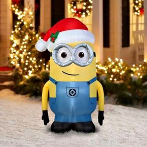 inflatable minions inflatable christmas decorations