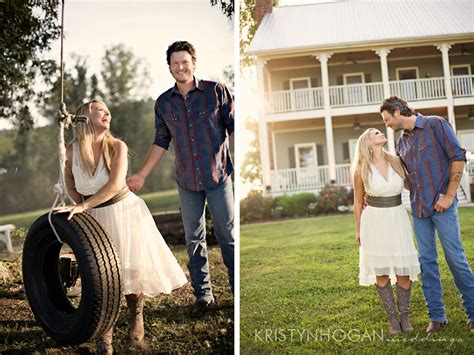 Miranda Lambert & Blake Shelton's Engagement Photos