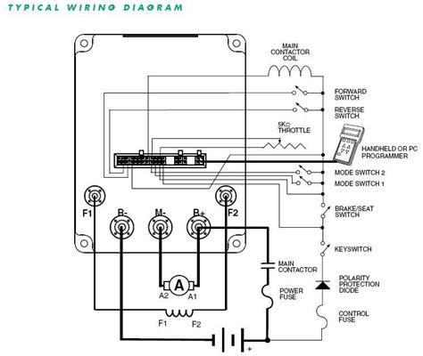 Club Car Controller Diagram by New Curtis Motor Controller Club Car 1520 5501 48 V 500a