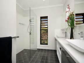 feature tiles bathroom ideas modern bathroom design with louvre windows using frameless