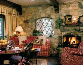 English Country Cottage Christmas Interiors