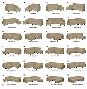 Sectional configurations sectionals sofas couches for Sectional sofa configurations