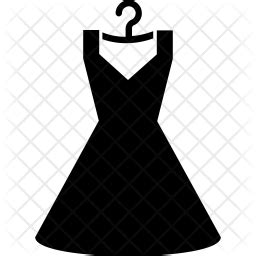 dress icon  glyph style   svg png eps ai