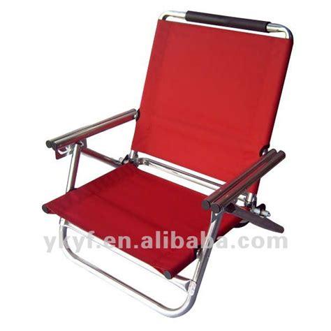 chaise de plage pliable bas plage de siège chaise avec réglable
