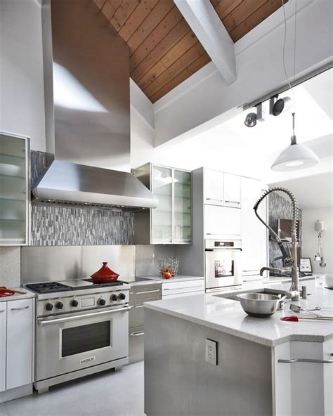 contemporary kitchen hoods custom range contemporary kitchen baltimore 2494