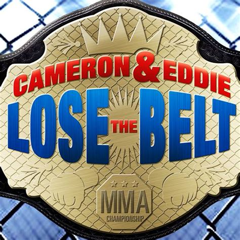 cameron eddie lose  belt home facebook