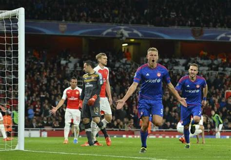 Arsenal 2  3 Olympiakos Piraeus Match Report 92915