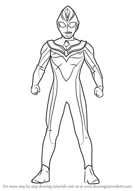learn   draw ultraman dyna ultraman step  step