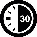 Timer Icon Minute Seconds Icons Second Clock