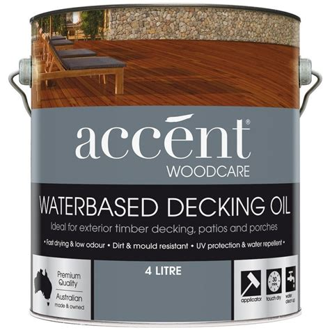 accent decking oil waterbased jarrah  mitre
