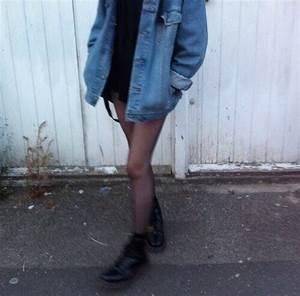 Denim jacket on Tumblr