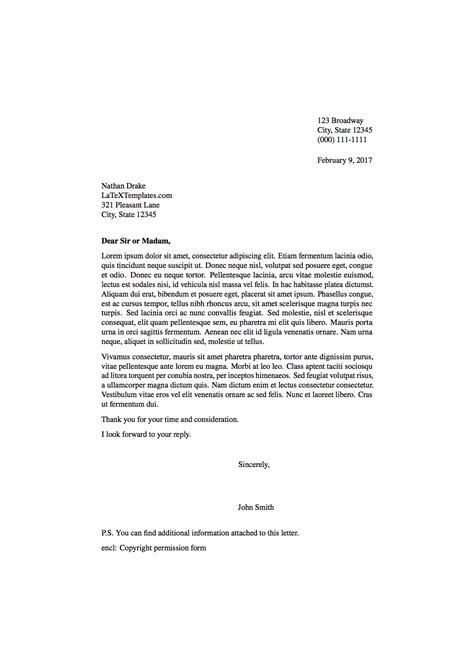 formal letter template templates 187 formal letters