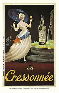 Antique French ALCOHOL advertising poster by Paul Mohr