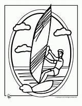 Coloring Luau Sailing Wind sketch template