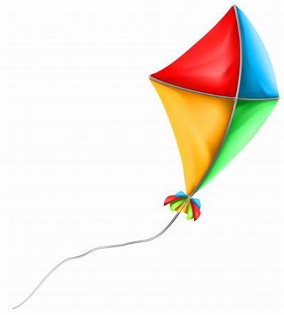 Kite Clipart Clip Colorful Transparent Summer