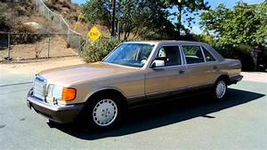 1987 Mercedes Benz 420sel 1 Owner 44 000 Original Miles Mint Car Guy