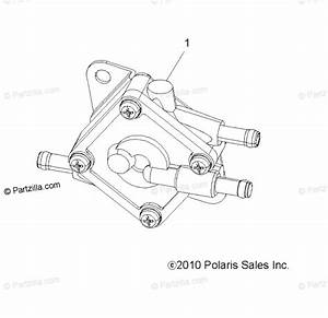 Polaris Atv 2013 Oem Parts Diagram For Engine  Fuel Pump