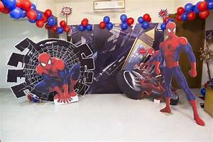 Spiderman Theme Birthday Party Ideas, Decorations and