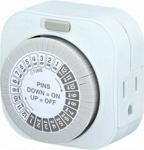 Indoor Mechanical Big Button Daily Timer 1