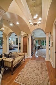 17, Magnificent, Mediterranean, Hallway, Designs, To, Navigate, Through, Your, Home