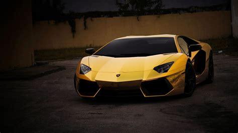 Car, Lamborghini Aventador, Yellow Wallpapers Hd / Desktop