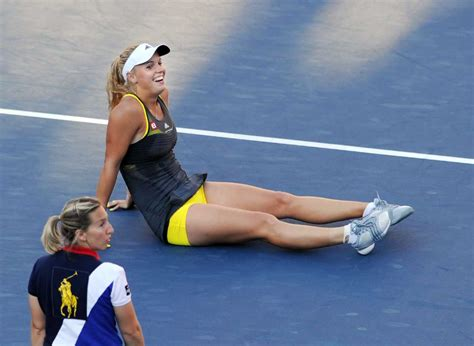 Caroline Wozniacki Hottest Upskirt Moment In Us Open