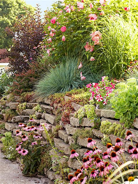 Garden Solutions by Planting On A Slope Better Homes Gardens